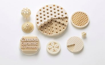 Canon Has Developed Both a Ceramic Material for 3D Printers and a Manufacturing Technology for the Highly Accurate 3D Printing of Parts with Complex Geometries: To Be Used in Industrial Fields