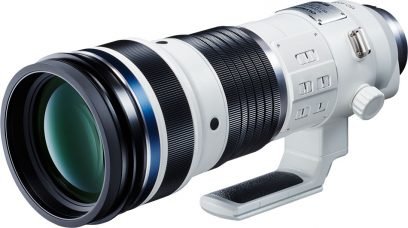Olympus Develops M.Zuiko Digital ED 150-400mm (300-800mm, 35mm equivalent) F4.5 TC1.25x IS PRO Super Telephoto Zoom Lens with built-In 1.25x Teleconverter: It can be combined with the 2x Teleconverter MC-20 for a 2000mm (35mm equivalent) Super Telephoto reach