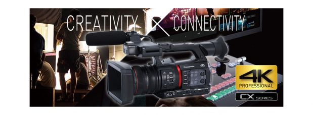 Panasonic Canada: CX350, a 4K 10-bit 1.0-type Handheld Camcorder for Professionals & Prosumers: Industry's Widest Angle of 24.5mm with Minimal Distortion, Advanced Compression Technology, Live Streaming Capabilities, Built-in 5-Axis Hybrid Image Stabilizer, Lightest Camcorder in its Class & More