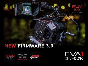 Panasonic AU-EVA1 Cine 5.7K Camera's Firmware Upgrade Version 3.0 (January 31, 2019) at No Cost: New Features and Improvements