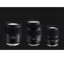 Tamron Develops Two Lenses for Nikon & Canon Full-frame DSLRs, 35-150mm F2.8-4 Di VC OSD (Model A043) and SP 35mm F1.4 Di USD (Model F045), and an Ultra Wide-angle Zoom Lens for Sony Full-frame Mirrorless Cameras, 17-28mm F2.8 Di III RXD (Model A046)