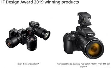 Nikon Won the Prestigious iF Design Award 2019 for the Nikon Z Mount Full-Frame Mirrorless Camera System Including NIKKOR Z Lenses, and the COOLPIX P1000 Superzoom Camera/ DF-M1 Dot Sight Accessory