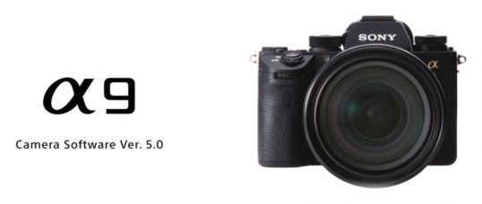 Sony A9 Firmware Update Ver.5.00 (03/24/2019): Mobile Support for a New Transfer & Tagging App, New Features & Improvements Include AI-Based Object Recognition Which Makes It Probably the Best Real-time Tracking AF and Real-time Eye AF Interchangeable Lens Camera