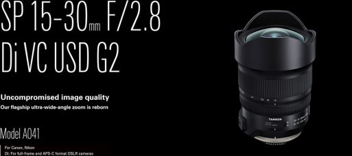 Tamron Firmware Update Ver.2 (2018.11.22 and 16) for Certain Tamron Lenses: Compatibility with Nikon Z7/Z6 Mirrorless Cameras with Nikon FTZ Mount Adapter