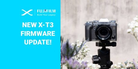 Fujifilm X-T3 Mirrorless Camera's Firmware Update Ver.3.00 (Apr. 16, 2019): New Functions & Improvements