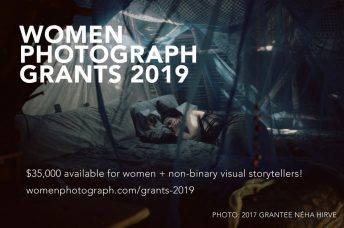 Women Photograph + Nikon Grants: 2019 Project Grants for Women & Non-binary Photographers: Apply before MAY 15, 2019
