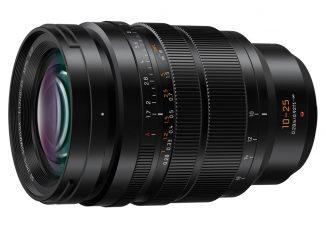 Panasonic LEICA DG VARIO-SUMMILUX 10-25mm / F1.7 ASPH. (HX1025), the World's First Standard Zoom Lens Achieving Full-range F1.7: Compact & Lightweight, Dust/Splash/Freeze-resistant to -10 Degrees Celsius, Suppresses Focus Breathing