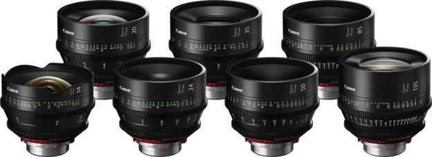 Canon Sumire Prime is Its First Set of Seven Cinema PL-Mount Lenses for Use with Large-sensor Cinema Cameras, Including 35mm Full-frame Cameras: Get Unique, Gentle, Beautiful Skin Tones and Smooth Bokeh