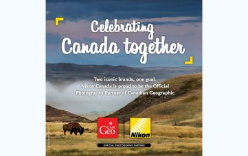 Nikon Canada is the Official Photography Partner of The Royal Canadian Geographical Society