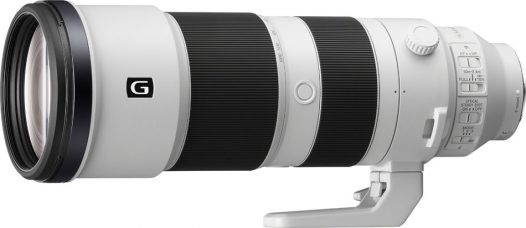 Sony FE 200-600mm F5.6-6.3 G OSS Super-telephoto Full-frame Zoom for Sony Mirrorless Cameras: Fast, Precise & Quiet AF; Built-in Optical Stabilization; Reach as Far as 1200mm Via Sony's E-mount 1.4x and 2x Teleconverters; Dust & Moisture Resistance