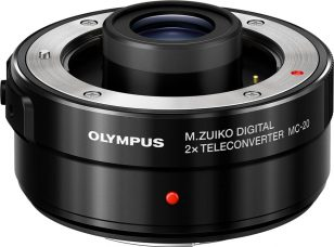 Olympus M.Zuiko Digital 2x Teleconverter MC-20 Doubles the Master Lens' Focal Length for Super Telephoto & Super Telephoto Macro Shooting: Portability, Dust/Splash/Freezeproof (-10°C), Compatible with M.Zuiko Digital ED 40-150mm F2.8 PRO, M.Zuiko Digital ED 300mm F4.0 IS PRO, and M.Zuiko Digital ED 150-400mm F4.5 TC1.25x IS PRO (Under Development)