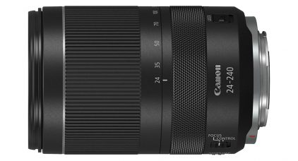 Canon RF 24-240mm F4-6.3 IS USM Telephoto Zoom Lens for its EOS R and EOS RP Full-Frame Mirrorless Cameras: Compact & Lightweight, 10x Zoom, Dynamic IS for Movie Mode, Five-stop IS for Low-light Shooting, Customizable Control Ring for Direct Setting Changes