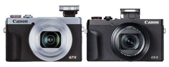Canon Announces PowerShot G7 X III with live-streaming to YouTube capability and PowerShot G5 X Mark II with pop-up EVF, touch and drag AF and a new optical 5x lens