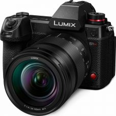 Panasonic LUMIX S1H, a Full-Frame Mirrorless Camera: Cinema-quality Video with 6K/24p Recording Capability, -6EV Luminance with Low Light AF, 14+ Stops of Dynamic Range, V-Log/V-Gamut, 4:3 Anamorphic Mode, Body 5-axis I.S., HLG Photo Mode, Cooling Fan for Heat Dispersion, Splash/ Dust/Freeze Resistant Down to -10°C