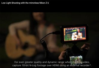 Nikon Z 7 and Z 6 Full-Frame Mirrorless Cameras' Software Upgrade Ver. 1.00 (2019/08/27): Get the Dedicated LUT for N-Log for Professional & Advanced Video Creators, at No Charge