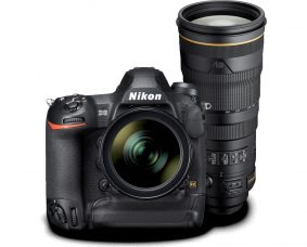 Nikon D6, the Most Advanced Professional DSLR to Date, and  AF-S NIKKOR 120-300mm f/2.8E FL ED SR VR Telephoto Zoom, a Professional Sports & Action Lens: Both are Currently Being Developed