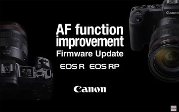 Canon Full-frame Mirrorless Cameras EOS R/RP Firmware Update (Late September 2019) at No Charge: Improvements
