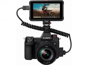 Panasonic LUMIX S1H Full-frame Mirrorless Camera's Firmware Has Been Developed: To Record Apple ProRes RAW on Atomos Ninja V and Achieve Maximum 5.9K/29.97p RAW Video Data Output to Atomos Ninja V 4K HDR Monitor-Recorder over HDMI
