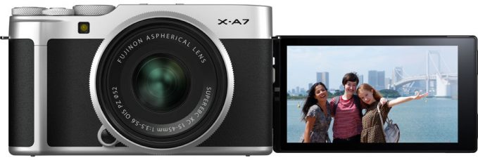 Fujifilm X-A7 Mirrorless Camera for All Content Creators: Stylish, Compact & Lightweight, 24.2MP Imaging Sensor, 4K 30fps Video, Fast AF, Quick & Enhanced Face Detection, Large 3.5″ Vari-angle LCD Touchscreen, Cinematic Look with Beautiful Bokeh, High Sensitivity for Low-light Shooting, Light Trail Mode