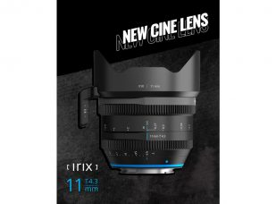 "Irix Cine 11mm T4.3, an Ultra-wide Angle and Rectilinear Full Frame Lens: Super-panoramic 123º Viewing Angle in a 2.39:1 Widescreen Format of Cinematic Shots in a Resolution up to 8K, Compact, Quiet Focusing, Low Focus ""Breathing,"" Magnetic Mount System for Accessories, Weather Sealings"