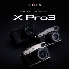 Fujifilm X-Pro3 Rangefinder for Street Photographers & Photojournalists: 26.1MP, Improved Hybrid Optical + 3.69M-dot OLED EVF, 1.62M-dot Tilt Touch LCD, 1.28-inch Back Mini Color Display, Phase-detection AF with Luminance of -6EV (Close to Absolute Darkness), 4K Video, Weather Resistant, Durable Titanium Body, Film Simulation Modes Include CLASSIC Neg.
