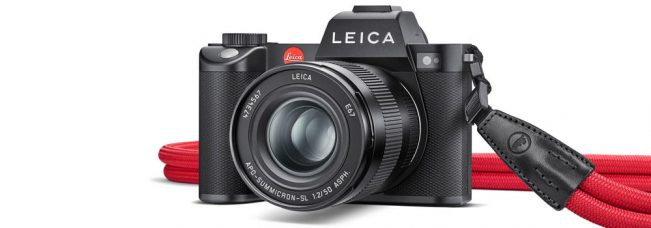 Leica SL2 Full-Frame Mirrorless Camera: 47-MP CMOS Sensor, Sensor-based Body Image Stabilization, Record Up to 60 fps in Cine 4K Mode, Object Detection AF with Face/Body Tracking, OLED EVF, Multishot Mode, Improved Weather Sealing, Three-Button Controls, Dual SD Card Slots