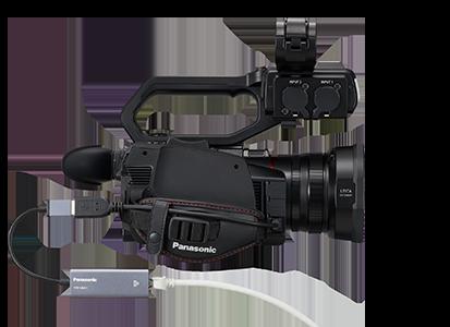 Panasonic AG-CX10: NDI|HX mode