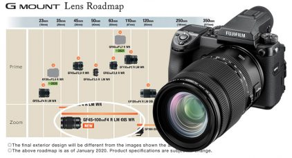 Fujifilm Announces the FUJINON GF45-100mmF4 R LM OIS WR for Late February