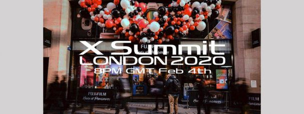 Fujifilm X Summit Will Be Held in London, UK on February 4, 2020, 8PM GMT: Watch the Live Stream of the Event