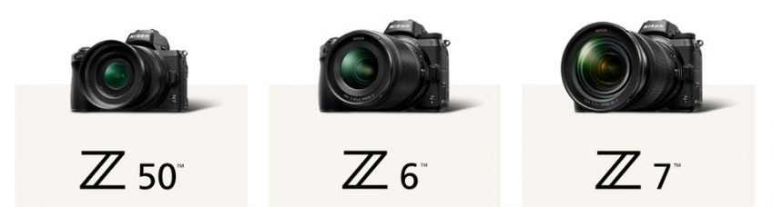 Nikon Firmware Updates (February 18, 2020) for Mirrorless Cameras Z 7 and Z 6 Full-frame (Ver. 3.00) and Z 50 APS-C / DX-format (Ver. 1.10): New Features & Improvements