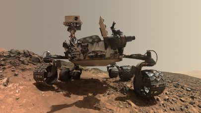 Curiosity Mars Rover's 1.8 Billion-Pixel Pano (360 View)