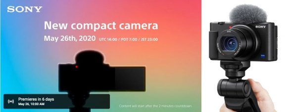 Sony Teases New Compact Camera May 26
