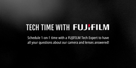 Free 1-On-1 Tech Time Support From Fujifilm