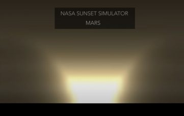 NASA Scientist Simulates Sunsets on Other Planets