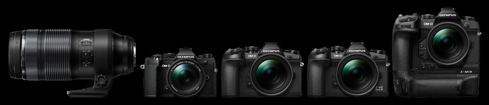 Olympus Releases Firmware Updates for E-M1X (Ver.1.3), E-M1 III (Ver.1.1), E-M1 II (Ver.3.3), E-M5 III (Ver.1.2) and M.ZUIKO DIGITAL ED 12-100mm F4.0 IS PRO (Ver.1.4)