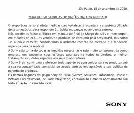A Sign of the Times, Part II? Sony Exits Camera Business in Brazil