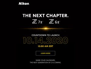 Nikon Z 7 II and Z 6 II Full-Frame Mirrorless Cameras to Be Revealed October 14 12:00 EDT