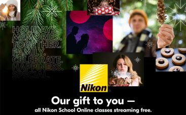 Nikon School Online Photography Classes Are Now Free to December 31st
