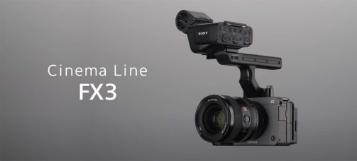 Sony Positions Compact and Lightweight Cinema Line FX3 for Early-Career Content Creators
