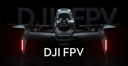 DJI FPV (First-Person View) Drone Features Intuitive New Single-Handed Motion Controller