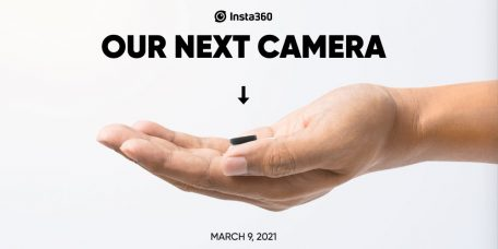 "Insta360 Teases Its Next ""In the Palm of Your Hand Tiny"" Camera"