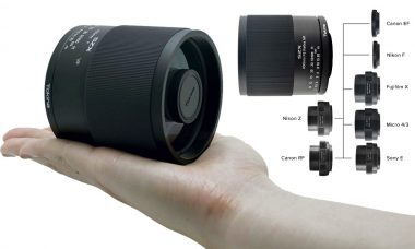 Tokina Adds Nikon Z and Canon RF Mount Adpaters for Its SZX Super Tele 400mm f8 Reflex MF Lens
