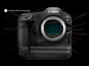 One Step Closer: Canon Announces Development of the EOS R3 Full-Frame Mirrorless Camera